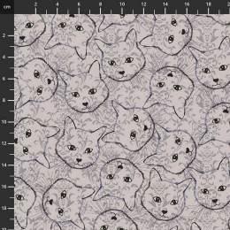 Tissu Stof Fabrics Fluffy Raffi - 489