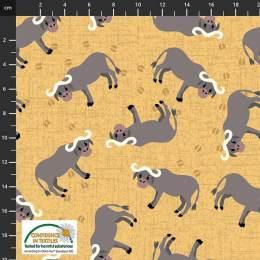 Tissu Stof Fabrics Coco's Safari - 489