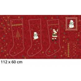 Tissu Stof Fabrics Chaussettes de Noël - 489