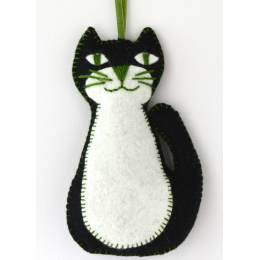 Mini kit feutrine chat noir - 490