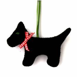 Mini kit feutrine le chien noir - 490
