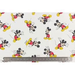 Tissu Mickey lot de 6 coupons 45x45 cm - 491