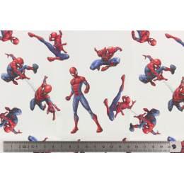 Tissu Spiderman lot de 6 coupons 45x45 cm - 491