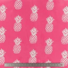Tissu Fryett's enduit pineapple pink - 492