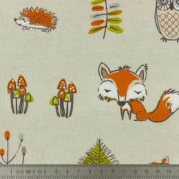 Tissu Fryett's enduit renard - 492