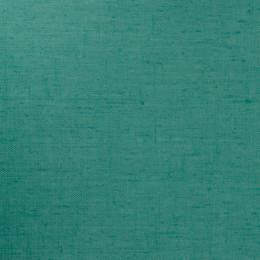 Tissu Harmony enduit lin livi aqua - 494