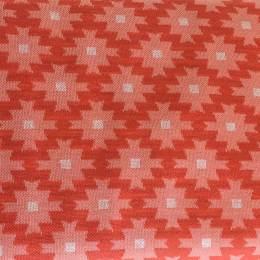 Tissu Alb jacquard lil'ikat corail - 495