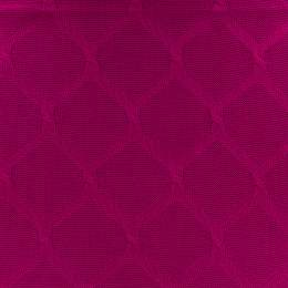 Tissu plain stitches cross knitty fushia - 495