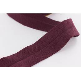Bande jersey Edge Me 3,2 cm bordeaux - 495
