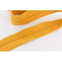 Bande jersey Edge Me 3,2 cm moutarde - 495