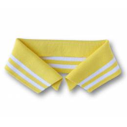 Col Polo Me Alb Stoffe jaune Taille L - 495