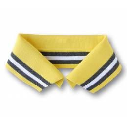 Col Polo Me Alb Stoffe jaune noir noir Taille M - 495