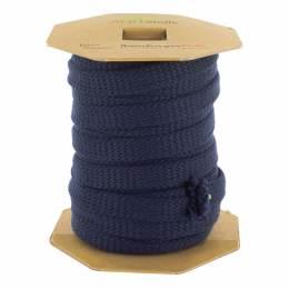 Cordon jersey bio cord gots marine 12 mm - 495