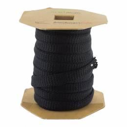Cordon jersey bio gots noir 12 mm - 495