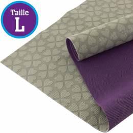 Tissu antiglisse ALB Keep Me taille L gris-violet - 495
