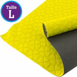 Tissu antiglisse ALB Keep Me taille L jaune-gris - 495