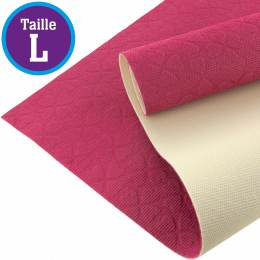 Tissu antiglisse ALB Keep Me taille L rose-blanc - 495