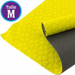 Tissu antiglisse ALB Keep Me taille M jaune-gris - 495