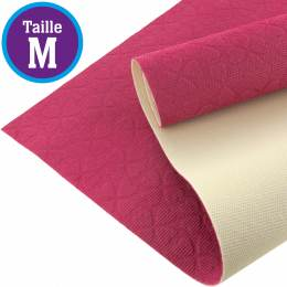 Tissu antiglisse ALB Keep Me taille M rose-blanc - 495