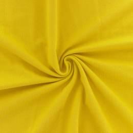 Tissu piqué uni Alb Stoffe jaune - 495