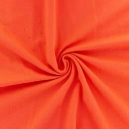 Tissu piqué uni Alb Stoffe orange - 495