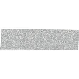 Ruban décoratif lurex argent 16 mm - 496