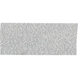 Ruban décoratif lurex argent 25 mm - 496