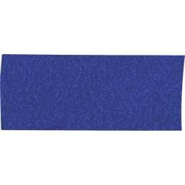Ruban décoratif lurex bleu 25 mm - 496