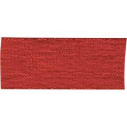 Ruban décoratif lurex rouge 25 mm - 496