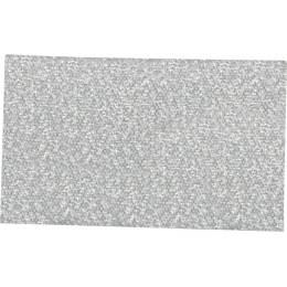 Ruban décoratif lurex argent 36 mm - 496