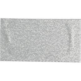 Ruban décoratif lurex argent 38 mm - 496