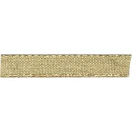 Ruban décoratif lurex doré 9 mm - 496