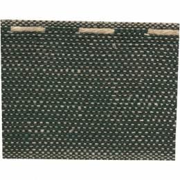 Ruban lin bicolore vert 40 mm - 496