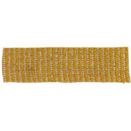 Ruban lin jaune doré 15 mm - 496