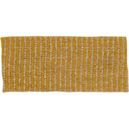 Ruban lin jaune doré 25 mm - 496