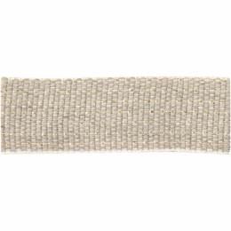 Ruban lin fil doré 15 mm - 496