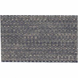 Ruban lin bicolore fil doré 30 mm - 496