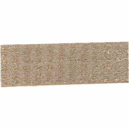 Ruban lin fil doré 25 mm - 496