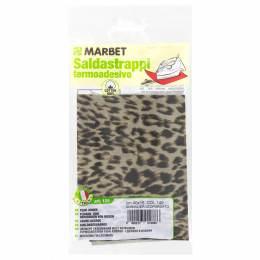 Pièce thermocollante sur le revers léopard - 498