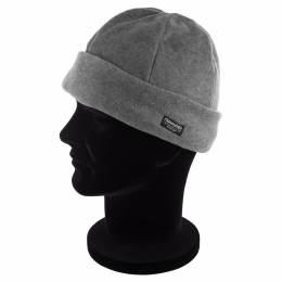 Bonnet adulte polaire doublé gris clair - 50