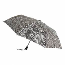 Parapluie pliant zébre ouverture auto. - 50