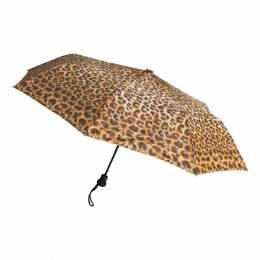 Parapluie pliant léopard ouverture auto. - 50