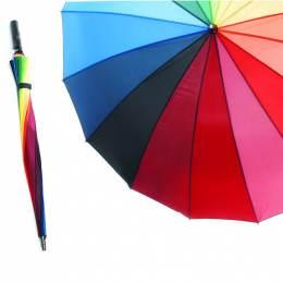 Parapluie golfeur multicolore - 50