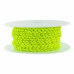 Cordon paracorde 3,5 mm jaune fluo - 53