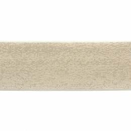 Élastique lurex blanc doré 40 mm - 53
