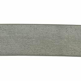 Élastique lurex céladon argent 40 mm - 53