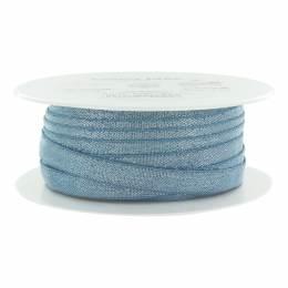 Élastique lurex bleu argenté 10 mm - 53