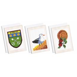 Lot de 3 cartes - Etretat - 55