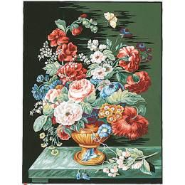 Canevas 36/47 bouquet d'été - 55