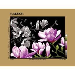 Canevas 36/47 antique magnolias for ever - 55